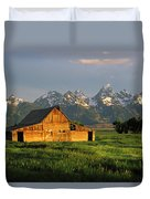 Grand Teton National Park , Wyhomestead Duvet Cover