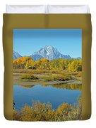 Grand Teton National Park 3 Duvet Cover