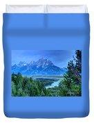 Grand Teton  - Snake River Overlook  Duvet Cover