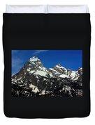 Grand Tetons Wyoming Duvet Cover