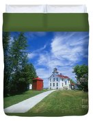 Grand Traverse Lighthouse Duvet Cover