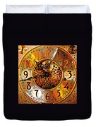 Grandfather Time Hdr Duvet Cover