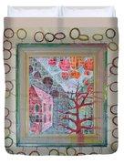 Grandma In A Tree - Framed Duvet Cover