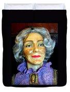 Grandma Predicts Duvet Cover