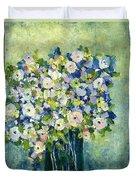 Grandma's Flowers Duvet Cover