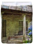 Grandma's Porch Duvet Cover