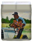 Grandpas Helpers Duvet Cover