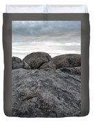 Granite Mountain Boulders Duvet Cover