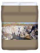 Granite Quarry, Barre, Vermont Duvet Cover