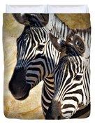 Grant's Zebras_b1 Duvet Cover