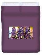 Grape Bunches Wide Duvet Cover