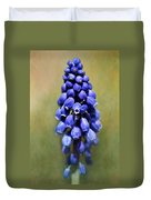 Grape Hyacinth Duvet Cover