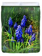 Grape Hyacinths 2014 Duvet Cover