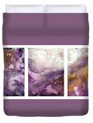 Grape Impressions Original Madart Painting Duvet Cover