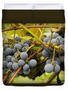 Grape Work Duvet Cover