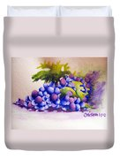Grapes Duvet Cover