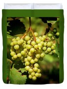Grapes - Yummy And Healthy Duvet Cover