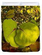 Grapetree Canopy Duvet Cover