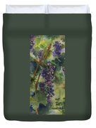 Baby Cabernets II   Triptych Duvet Cover