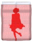 Graphic Marilyn Monroe 2 Duvet Cover