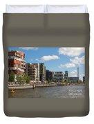 Grasbrookhafen Hamburg Hafencity Duvet Cover