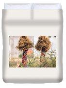 Grass Cuttings Duvet Cover