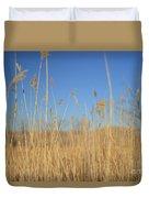Grass In Motion Duvet Cover