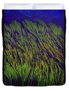 Grass In The Lake Duvet Cover