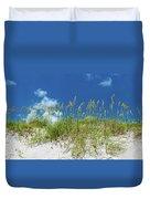 Grass On The Beach, Bill Baggs Cape Duvet Cover