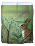 Grass Rabbit Duvet Cover