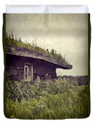 Grass Roof On Cottage Duvet Cover