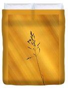 Grass Silhouette Duvet Cover