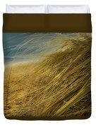 Grass To Sea Duvet Cover