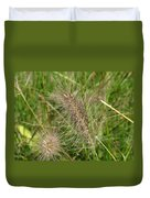 Grasses At Spaulding Pond Duvet Cover