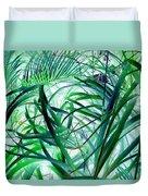 Grassy Glow  Duvet Cover