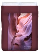 Graved Sandstone Of Antelope Canyon Duvet Cover