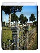 Graveyard Art Duvet Cover