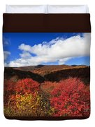 Graveyard Fields In The Mountains Duvet Cover