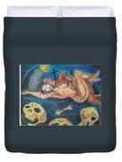 Graveyard Love Duvet Cover