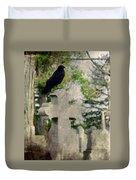 Graveyard Occupant Duvet Cover