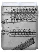Graveyard Patent Duvet Cover