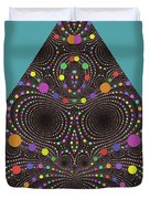 Gravity And Magnetism Duvet Cover