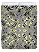 Gray And Yellow No. 1 Duvet Cover
