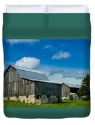 Gray Barn Duvet Cover