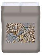 Gray Catbird Duvet Cover