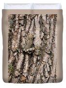 Gray Tree Frog Duvet Cover