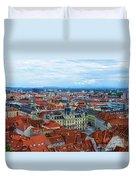 Graz Old Town Duvet Cover