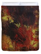 Great Ball Of Fire Duvet Cover