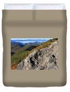 Great Balsam Mountains - Blue Ridge Parkway Duvet Cover
