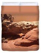 Great Basin Rattlesnake Duvet Cover